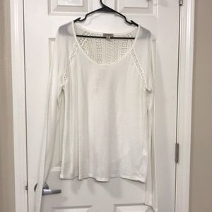 White lucky brand thermal